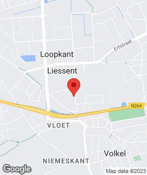 Locatie Vandenbrand Automotive B.V. op kaart