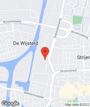 Locatie Automobielbedrijf A. Wijgerde B.V. op kaart