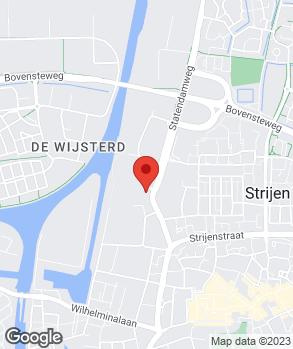Locatie Euromaster Oosterhout op kaart