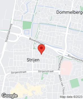 Locatie Bosch Car Service Den Hout B.V. op kaart