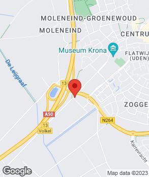 Locatie Garagebedrijf F. van Lankvelt B.V. op kaart
