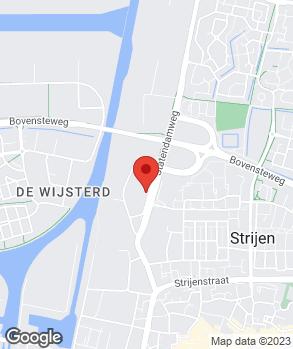 Locatie Van Dorst Oosterhout B.V. op kaart