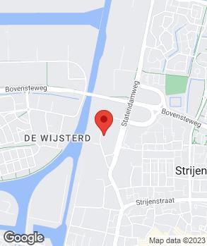 Locatie Suzuki Oosterhout op kaart