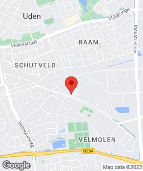 Locatie Autoservice Center Van den Elsen V.O.F. op kaart