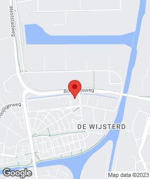 Locatie O.P.C. Oosterhout B.V. op kaart