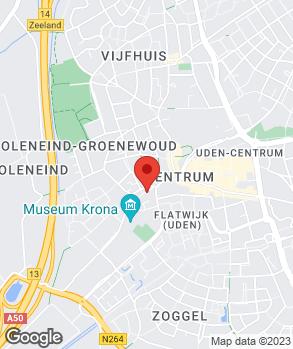 Locatie M. de Laat op kaart