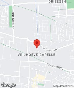 Locatie Van Abeelen onafhankelijke APK Sprang-Capelle op kaart