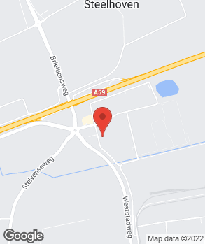 Locatie Schadenet Oosterhout op kaart