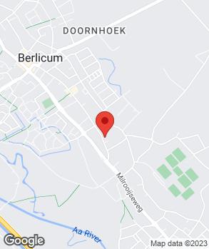 Locatie Autocenter Berlicum B.V. op kaart