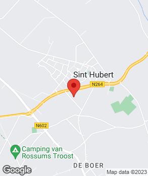 Locatie Autoservice St. Hubert op kaart