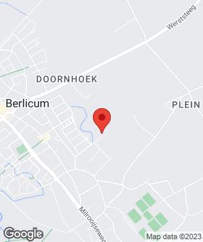 Locatie Onderhoudsbedrijf J.P. Langens op kaart