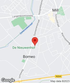 Locatie M.J. van Duynhoven op kaart