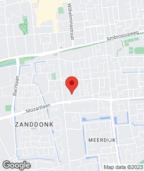 Locatie Autobedrijf Schoondermark op kaart