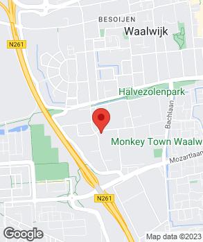 Locatie Automobielbedrijf Vos Zanddonk B.V. op kaart