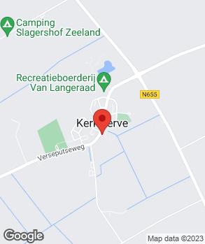 Locatie Garage Kerkwerve op kaart