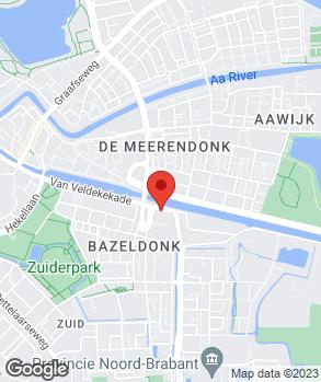 Locatie Autorestauratie van Keijsteren op kaart