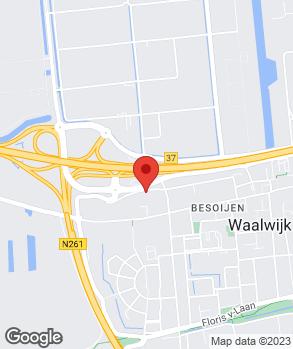 Locatie van Kerkhof & Visscher Waalwijk   VKV Renault Waalwijk op kaart