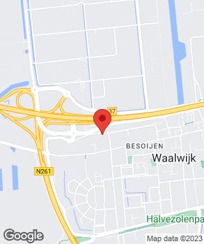 Locatie Autobedrijf van Mossel Waalwijk B.V.   Audi Centrum Tilburg op kaart