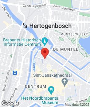 Locatie N. van den Bergh op kaart