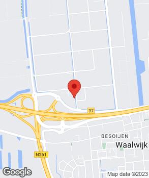 Locatie Van Dorst Waalwijk B.V. op kaart