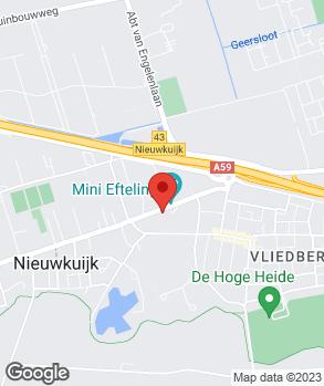 Locatie Garagebedrijf L.M. de Kort B.V. op kaart