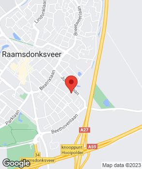 Locatie V.O.F. Autobedrijf W. Bocxe op kaart