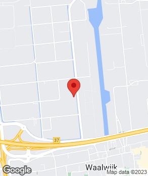 Locatie Autoservice Waalwijk op kaart