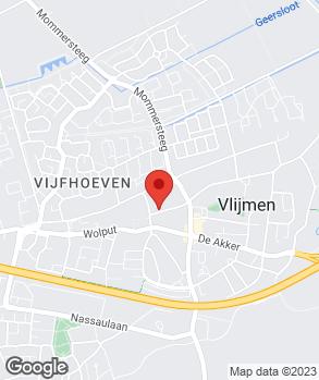Locatie Autobedrijf P. van den Heuvel op kaart