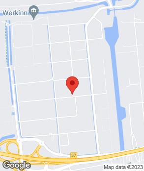 Locatie Euromaster Waalwijk op kaart