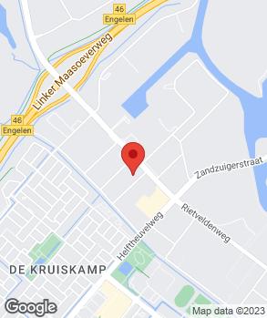 Locatie Merk Service Den Bosch op kaart