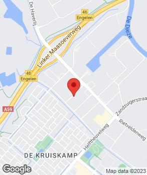 Locatie Dagdelen Banden Service op kaart