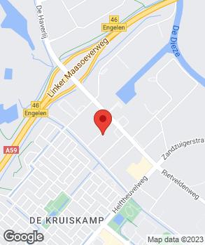 Locatie CEON Montage B.V. op kaart
