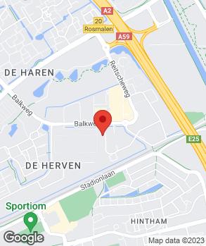 Locatie Van Roosmalen 's-Hertogenbosch op kaart