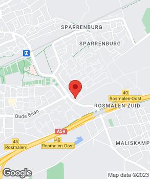Locatie Autobedrijf M. Vorstenbosch B.V. op kaart