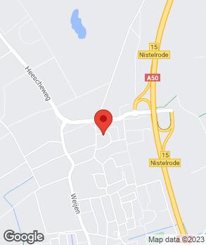 Locatie Crommenacker Automobielen op kaart