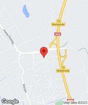 Locatie Autoschade Nistelrode B.V. op kaart