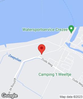 Locatie H. Glerum Lage Zwaluwe B.V. op kaart