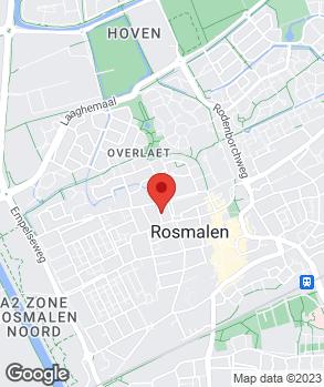 Locatie W. van den Berg Auto's op kaart