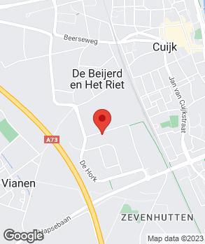 Locatie Bosch Car Service Thoonen op kaart