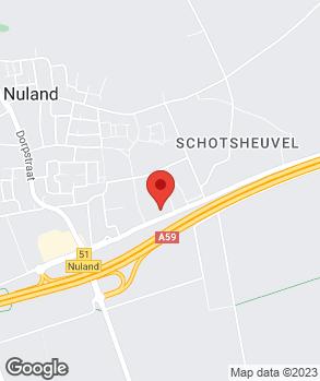 Locatie Autobedrijf Nuland op kaart
