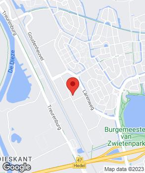 Locatie Van Lith op kaart