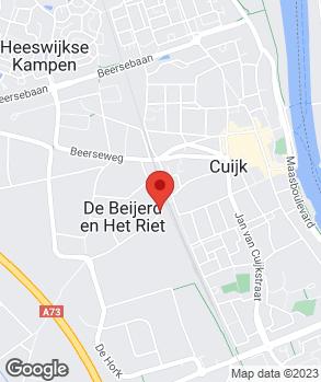 Locatie De Maas Auto's op kaart