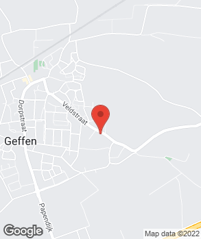 Locatie Garagebedrijf Geffen B.V. op kaart