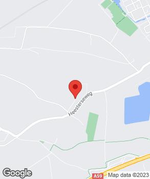 Locatie M.H.A.J. van der Heijden op kaart