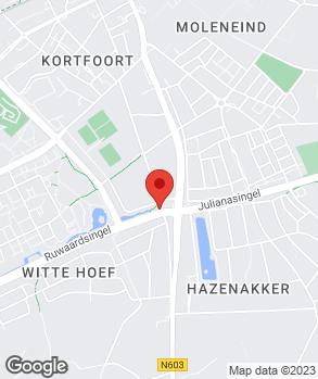 Locatie Handelsonderneming Peter van der Doelen op kaart