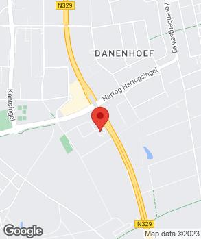 Locatie Automobielbedrijf Van Hunnik Oss B.V. op kaart