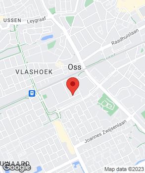 Locatie Vakgarage Gielis Oss b.v. op kaart
