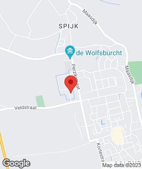 Locatie Autobedrijf Midden-Brabant op kaart