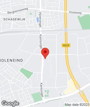 Locatie Autobedrijf Gebr. Vos B.V. op kaart