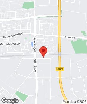 Locatie Pierre van de Coolwijk op kaart